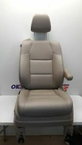14 17 Honda Odyssey Passenger Right Front Bucket Seat Gray Leather Power Heated