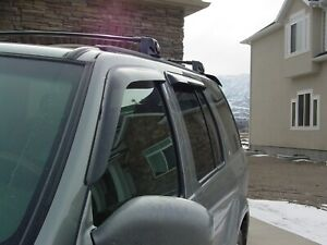 Tape On Wind Deflectors For A 1996 2004 Nissan Pathfinder