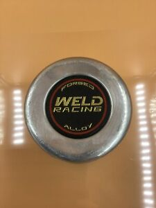 Weld Racing Forged Alloy Chrome Center Cap 4 5 8 Back Diameter With Flange