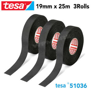 Tesa 51036 Pet Cloth Wire Harness Tape For High Abrasion Protection Triple A 3