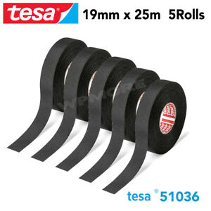 Tesa 51036 Pet Cloth Wire Harness Tape For High Abrasion Protection Triple A 5