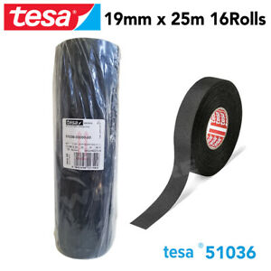 Tesa 51036 Pet Cloth Wire Harness Tape For High Abrasion Protection Triple A 16