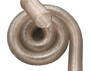 Vacuum Hose Polyurethane Sold By The Foot Heavy Duty With Copper Wire Ground