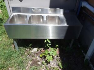 Used Stainless Steel Sink Commercial