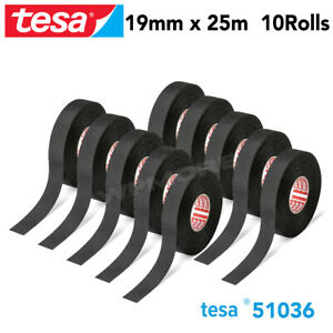 Tesa 51036 Pet Cloth Wire Harness Tape For High Abrasion Protection Triple A 10