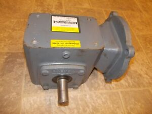 Boston Gear F718 Speed Reducer 56c Face 5 1 Ratio With Posivent Feature