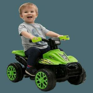 Kids Electric ATV Ride-On Quad 4-Wheeler Toddler Outdoor Play Terrain Drive NEW