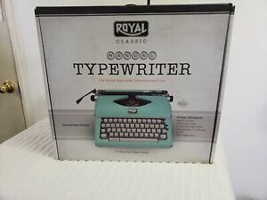 Royal Classic Typewriter Manual Pcua 79101t
