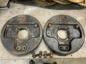 1939 41 Ford Front Backing Plates Modified For 32 36 Spindals