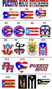 Puerto Rico flag sticker bandera puerto Rico best Sellers Stickers decals