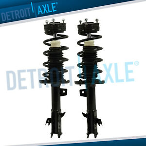 Front Struts Shocks Coil Spring Assembly For 2011 2012 2013 Ford Fiesta