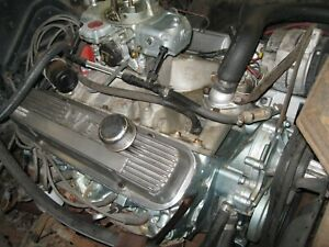 1968 Pontiac 400 Engine Ye Code Casting Date K277 Carb To Pan Running