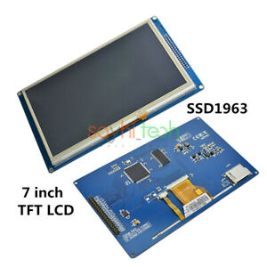 7 Inch Touch Pwm 800 480 Tft Lcd Module Ssd1963 For Arduino Avr Stm32 Arm