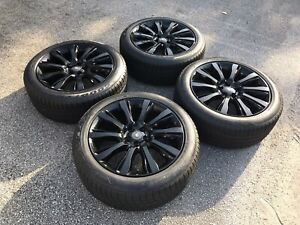 21 Range Rover Land Supercharged Black Factory Oem Wheels Rims Tires