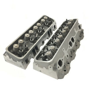 New Chevrolet Chevy Gm Marine 5 7l 350 Vortec Cylinder Heads 906 062 Pair