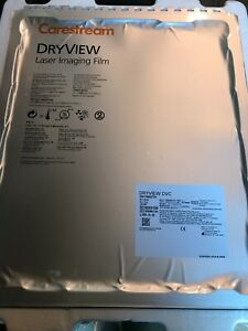 14x17in 35x43cm Carestream Dvc Dryview Laser X ray Film Ref 8203150 Qty 3