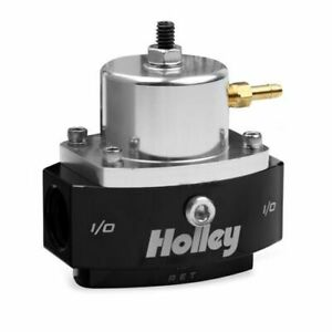 Holley 12 846 Hp Billet Efi By Pass Fuel Pressure Regulator Black Anodized New