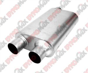 Dynomax 17638 Thrush Welded Muffler 4 X 9 5 2 5 In Inlet outlet Oval