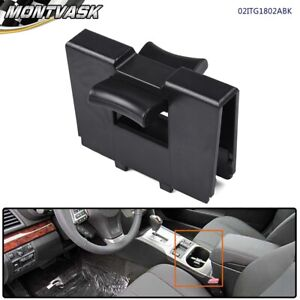 For 2010 2014 Subaru Legacy Outback Abs Plastic Cup Holder Partition Black