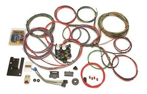 Painless Wiring 20107 21 Circuit Classic Tri Five Chevy Chassis Harness