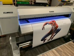 Mutoh Valuejet 1624 Eco solvent New Printhead Installed