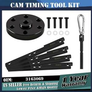 3163069 3163021 Cam Timing Tool Kit With Injector Cam Puller For Cummins Isx Qsx