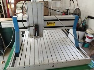 Cnc Techo Isel Router 4 axis And Rotary Table