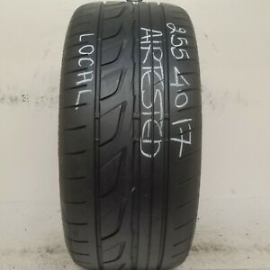 No Shipping Only Local Pick Up 1 Tire 255 40 17 Bridgestone Potenza Re760 Sport