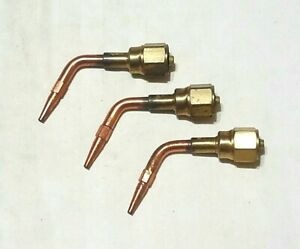 Victor Journeyman 00 rte 0 rte 1 rte Welding Brazing Torch Tip Set 315fc