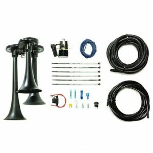 Pacbrake Hp10235 Pacpro Basic Trio Air Horn Kit New