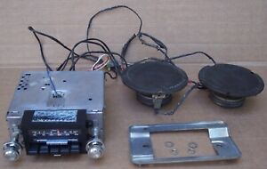 80 86 Ford Truck Bronco Am Fm Stereo Radio W Harness Working 81 82 83 84 85