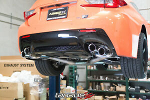 Tanabe Axleback For Lexus Rcf 2015 2016 Medallion Touring Exhaust T70180a