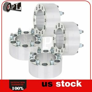 4x 6 Lugs 3 108 Mm 6x5 5 12x1 5 Studs Wheel Spacers For Toyota Tacoma 4runner