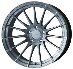1 New 18x11 Enkei Rs05 rr Silver Wheel rim 5x120 5 120 484 8110 1230sp