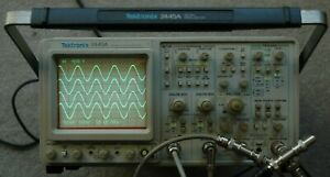 Tektronix 2445a 150 Mhz Oscilloscope B012362 Calibrated Works Great