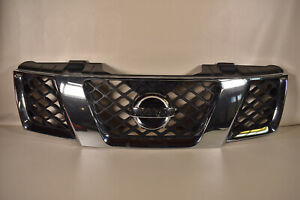 05 07 Nissan Pathfinder Front Grille Assembly Cover Insert Molding Chrome Oem