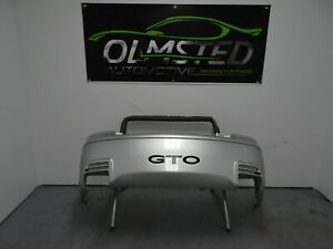 04 05 06 Pontiac Gto Sap Sport Package Rear Bumper Oem Quicksilver Metallic Rare