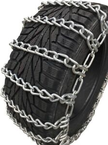 Snow Chains Lr78 16lt L 78 16lt 2 Link Extra Heavy Duty Tire Chains