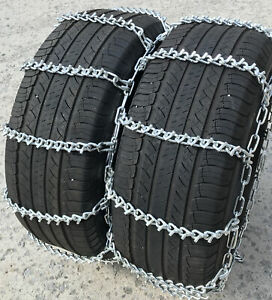 Snow Chains 7 50 16 7 50 16lt Dual Tire Chains Set Of 2