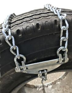 Snow Chains 225 70 22 5 225 70 22 5 Strap On Emergency Tire Chains