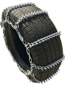 Snow Chains 245 65r17 Alloy Cam Stud Tire Chains W Spring Tensioners