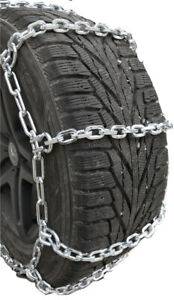 Snow Chains P275 60r16 P275 60 16 7mm Square Tire Chains W Spring Tensioners