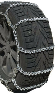 Snow Chains 245 65r17 245 65 17 V Bar Cam Tire Chains W Rubber Tensioners