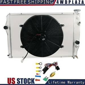 3 Row Radiator Shroud Fan For 93 02 Chevy Camaro Z28 Pontiac Firebird 5 7l V8