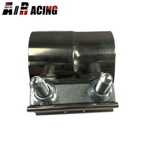 Emusa 2 25 Od Lap Joint Band Clamp Exhaust Pipe Muffler Resonator Ss