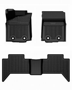 For Toyota Tacoma 2018 20 At Double Cab All Weather Rubber Floor Liner Mat New