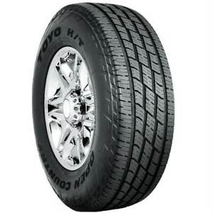 2 New Toyo Open Country H t Ii 120s 50k mile Tires 2457516 245 75 16 24575r16