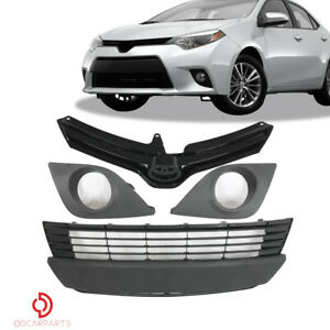 Fits Toyota Corolla 1992 1995 Ae101 Ae102 Jdm Style Front Upper Grille Black