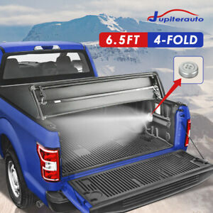 4 Fold Tonneau Cover 6 5ft For 2007 2013 Chevy Silverado 1500 2500 Hd Truck Bed