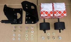 Bmw E12 M30 Powdercoated Engine Mount Brackets With New Hardware May Fit E3 E9